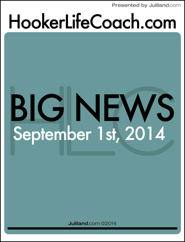 BIG NEWS: HookerLifeCoach.com