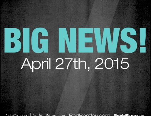 BIG NEWS: SerenaBlair.com