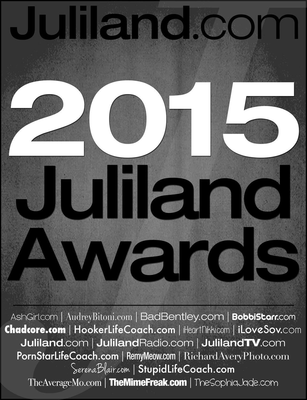 BIG NEWS: 2015 Juliland Awards